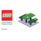 LEGO Cities of Wonders - Singapore: Chope Seat Set COWS-3