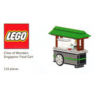 LEGO Cities of Wonders - Singapore: Food Cart Set COWS-1