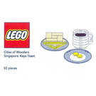 LEGO Cities of Wonders - Singapore: Kaya Toast  Set COWS-2