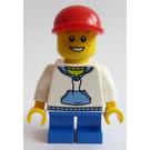 LEGO City Advent Calendar 2010 Day 2 Boy Minifigure