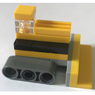 LEGO City Advent Calendar Set 2824-1 Subset Day 20 - Toy Bulldozer
