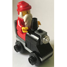 LEGO City Advent Calendar Set 2824-1 Subset Day 24 - Santa with Toy Train Engine