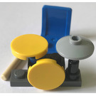 LEGO City Advent Calendar Set 2824-1 Subset Day 5 - Drum Set
