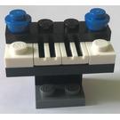 LEGO City Advent Calendar Set 2824-1 Subset Day 7 - Piano