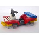 LEGO City Advent Calendar Set 4428-1 Subset Day 11 - Firefighter Quad Bike