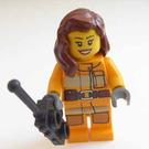 LEGO City Advent Calendar Set 4428-1 Subset Day 12 - Female Firefighter