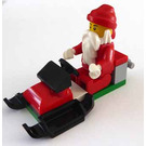 LEGO City Advent Calendar Set 4428-1 Subset Day 24 - Santa with Snowmobile
