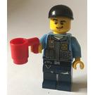 LEGO City Advent Calendar Set 60024-1 Subset Day 1 - Police Officer with Mug