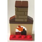 LEGO City Advent Calendar Set 60024-1 Subset Day 2 - Fireplace