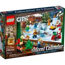 LEGO City Advent Calendar Set 60155-1 Packaging