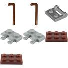 LEGO City Advent Calendar Set 60155-1 Subset Day 7 - Sled