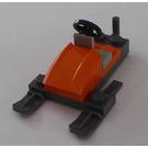 LEGO City Advent Calendar Set 7553-1 Subset Day 20 - Orange Snowmobile