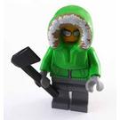 LEGO City Advent Calendar Set 7553-1 Subset Day 9 - Ice Fisherman