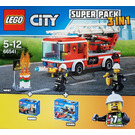 LEGO City Fire Value Pack Set 66541