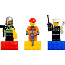 LEGO City Hero Magnet Set (852513)