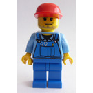 LEGO City Minifigure with Long Cap