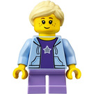 LEGO City People Pack Girl with Bright Light Hair Minifigure