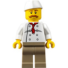 LEGO City People Pack Hot Dog Vendor Minifigure