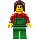 LEGO City People Pack Lawn Worker Woman Minifigure