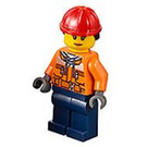LEGO City Road Worker Female Minifigure