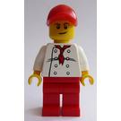 LEGO City Square Chef Minifigure
