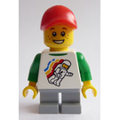 LEGO City Square Child Minifigure