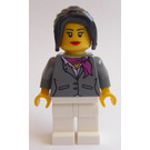 LEGO City Square Garage Female Employee Minifigure
