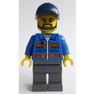 LEGO City Square Truck Driver Minifigure