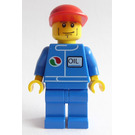 LEGO City with Octan Logo and 'OIL' Decoration Minifigure