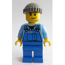 LEGO City Worker with Overalls Minifigure