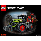 LEGO CLAAS XERION 5000 TRAC VC Set 42054 Instructions