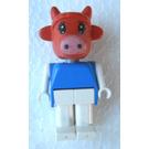 LEGO Clara Cow Fabuland Figure