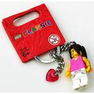 LEGO Classic Girl Key Chain (852704)