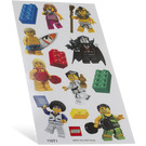 LEGO Classic Minifigure Sticker Set (853216)