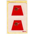 LEGO Classic Space Red Torsos Stickersheet (199014)