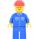 LEGO Classic Town Worker with Blue Shirt with 6 White Buttons Minifigure