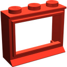LEGO Classic Window 1 x 3 x 2 with Extended Lip and Solid Studs (31)