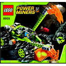 LEGO Claw Digger Set 8959 Instructions