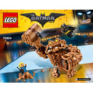LEGO Clayface Splat Attack Set 70904 Instructions