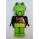 LEGO Clive Crocodile with Red Bow Fabuland Figure