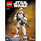 LEGO Clone Commander Cody Set 75108 Instructions