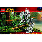 LEGO Clone Scout Walker Set 7250 Instructions