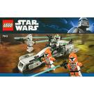 LEGO Clone Trooper Battle Pack Set 7913 Instructions