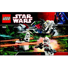LEGO Clone Troopers Battle Pack Set 7655 Instructions