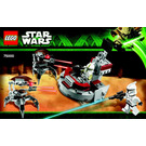 LEGO Clone Troopers vs. Droidekas Set 75000 Instructions