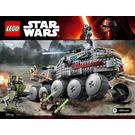 LEGO Clone Turbo Tank Set 75151 Instructions
