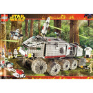 LEGO Clone Turbo Tank Set (with Light Up Mace Windu) 7261-1