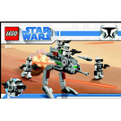 LEGO Clone Walker Battle Pack Set 8014 Instructions