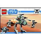 LEGO Clone Walker Battle Pack Set 8014 Instructions