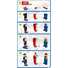 LEGO Clowns Set 321-1 Instructions